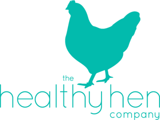 The Healthy Hen Logo. Friends with Amy Young Dance