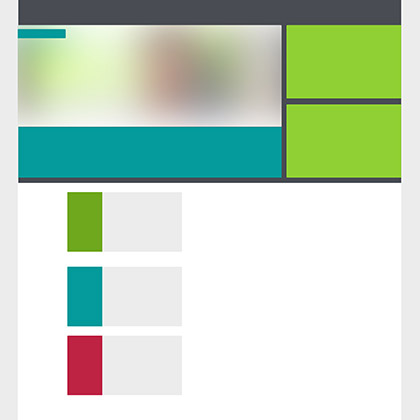 DATEV Webentwicklung Skizze