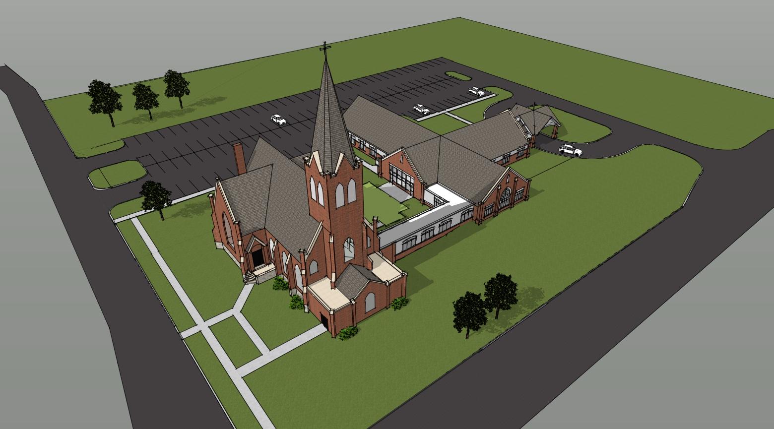 church sketch 4
