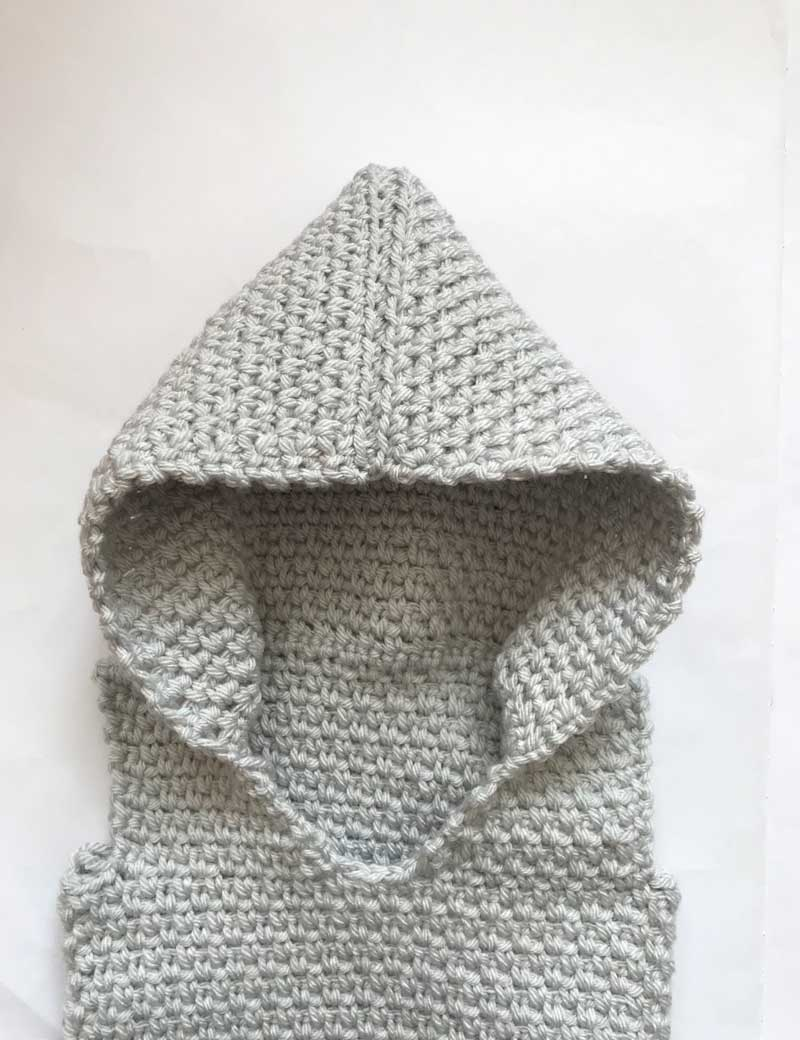 Thnlife Hooded Vest Pattern Veronika Cromwell
