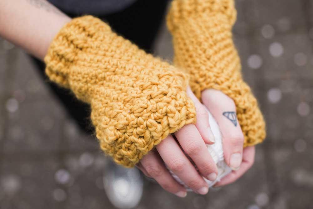 Penelope Fingerless Gloves Crochet Pattern The Hook Nook Shop