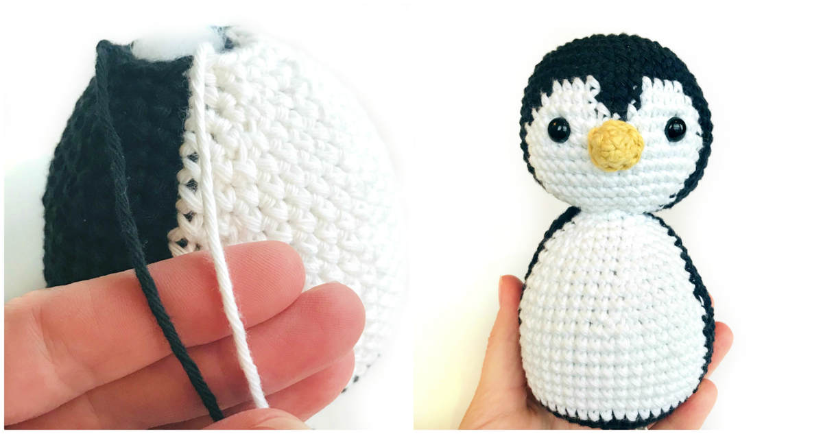 12 Free Perfect Crochet Penguin Patterns • Simply Collectible Crochet | 633x1200
