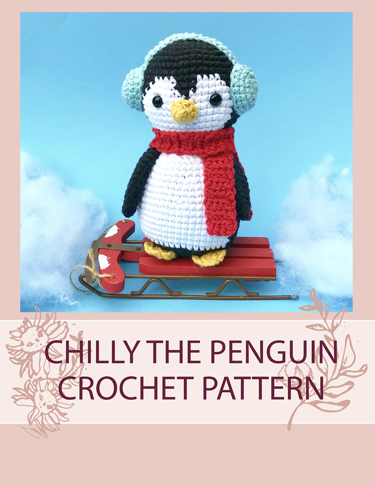 Thnlife Chilly The Penguin Crochet Pattern Jennifer Percival
