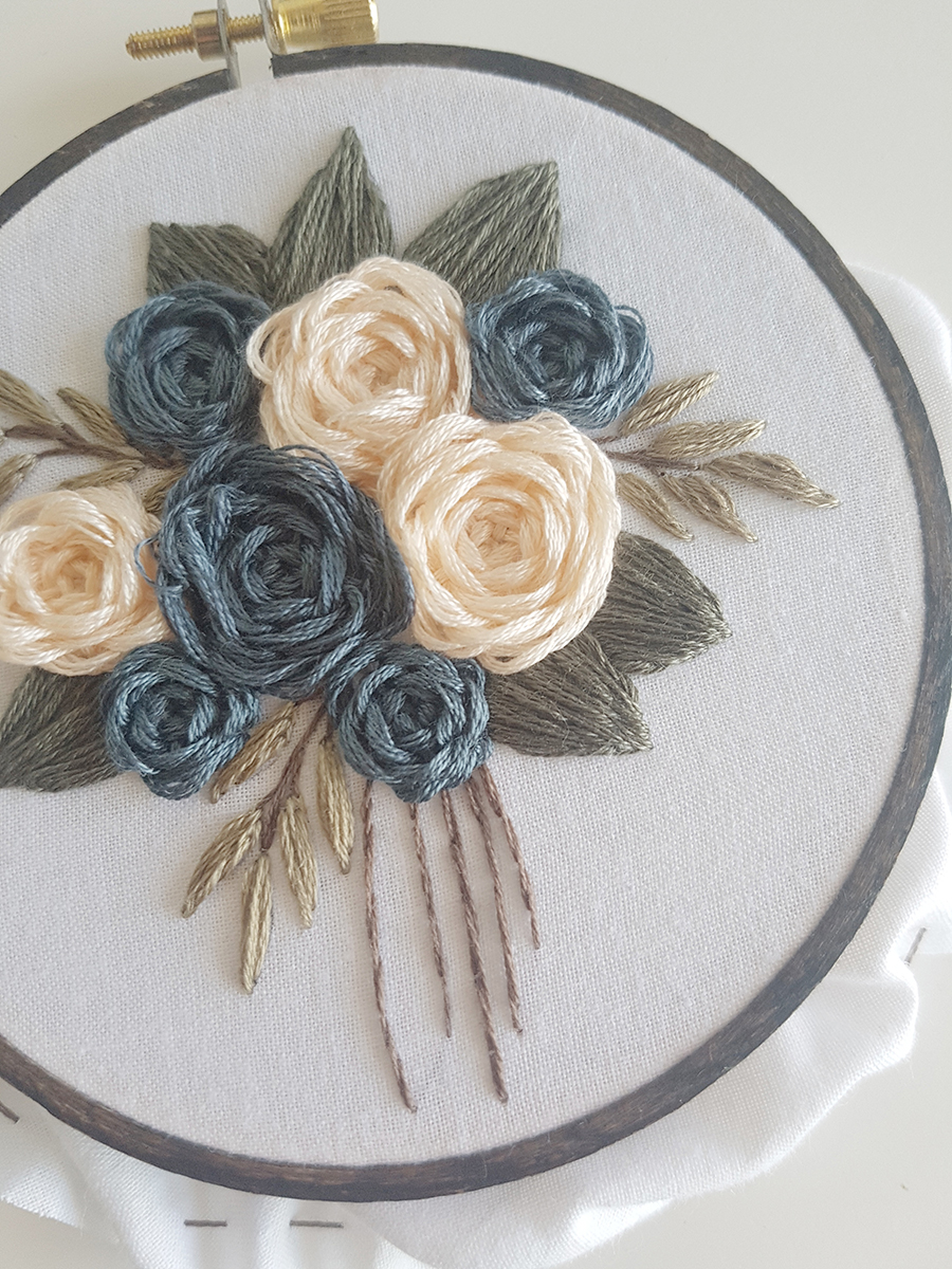 Stitch Along Bouquet Free Pattern by Laura Gushue for @thehooknook