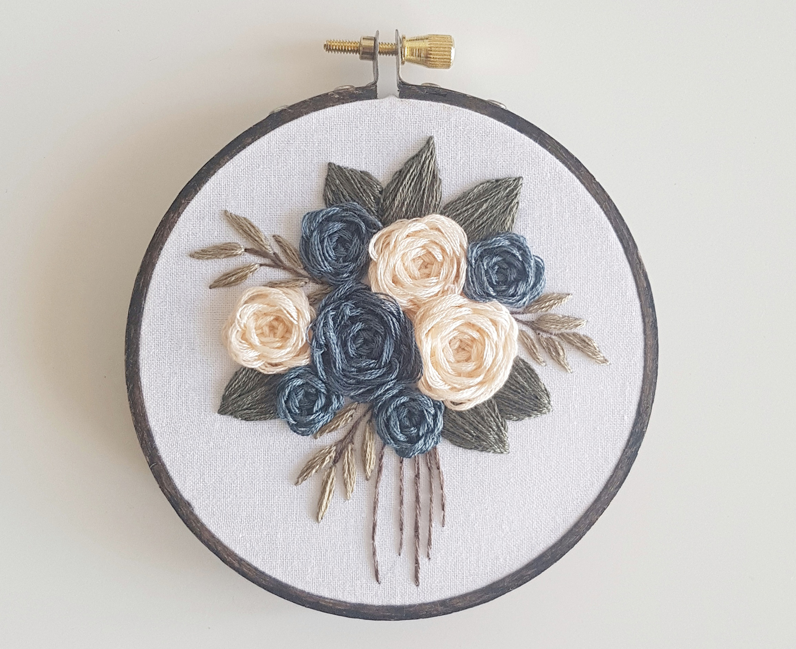 Thnlife Stitch Along Bouquet Laura Gushue