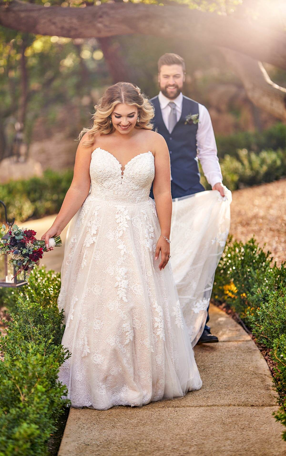 Plus size dresses at Love Bridal Boutique