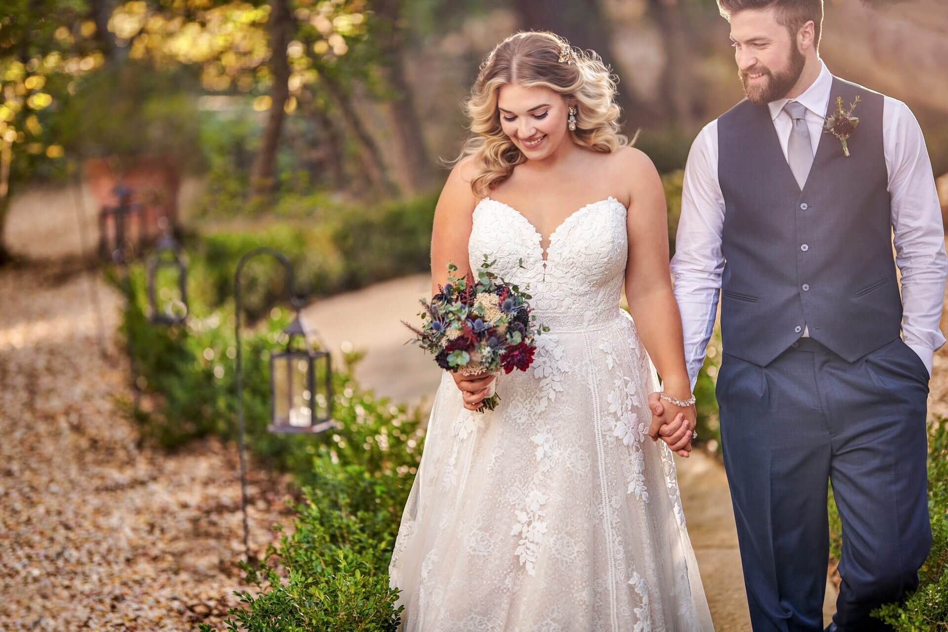 Wedding dresses for all sizes