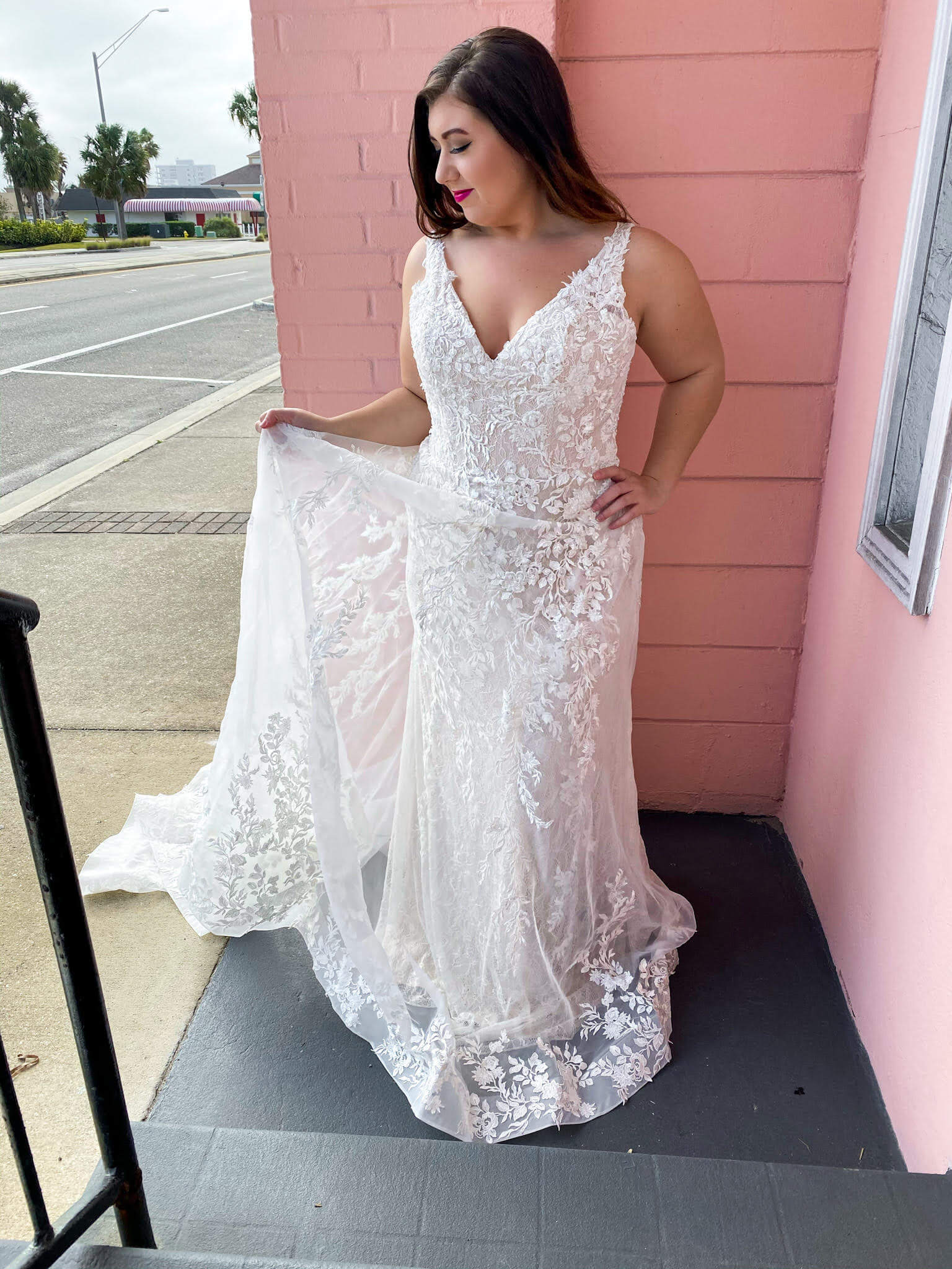 Plus size wedding dress options