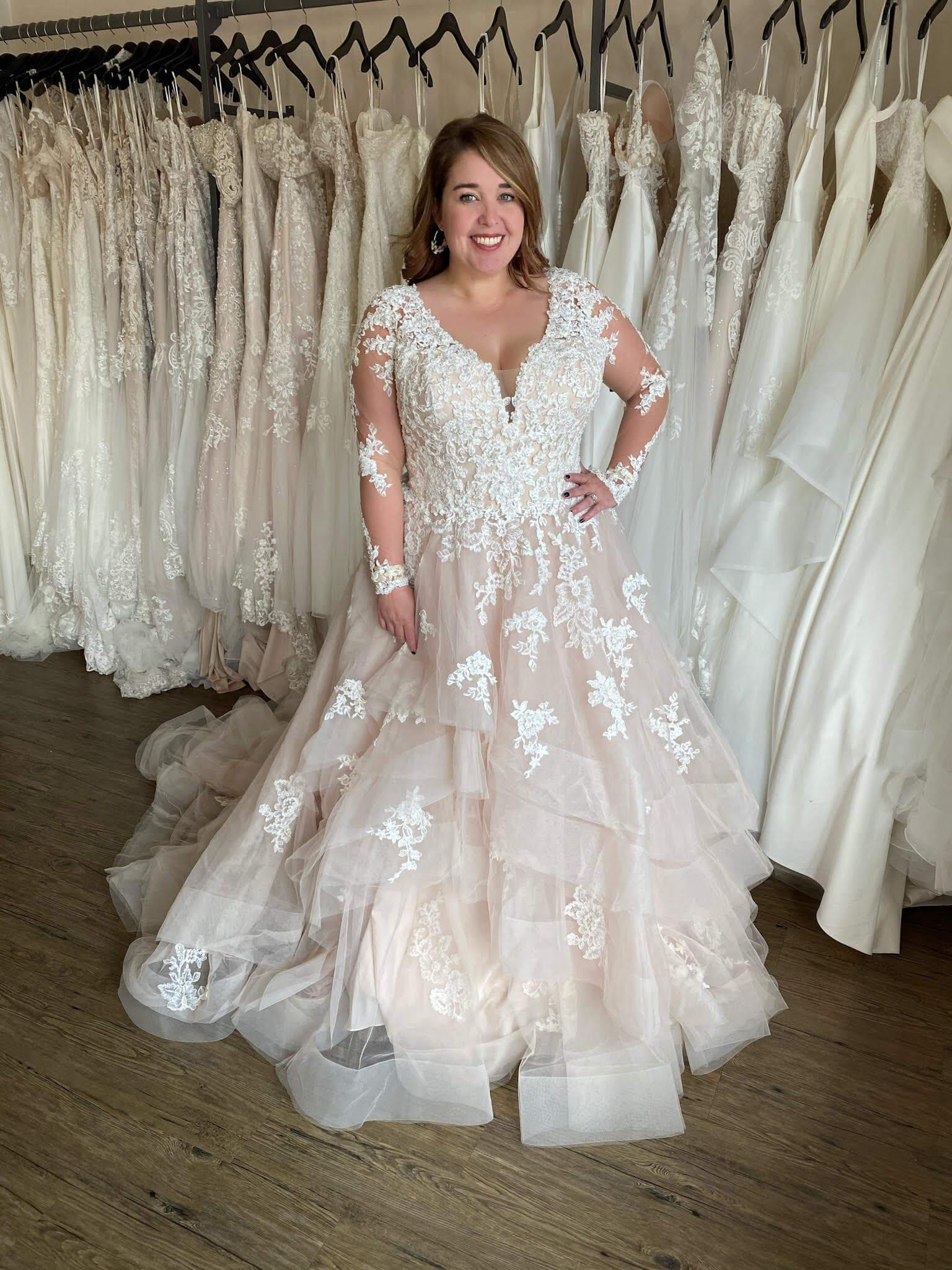 Plus size dresses at Love Bridal Boutique
