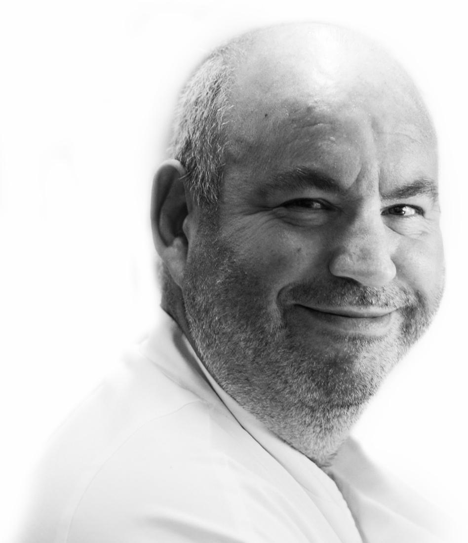 Philippe Vazart portrait noir et blanc Ubaldo Lecca