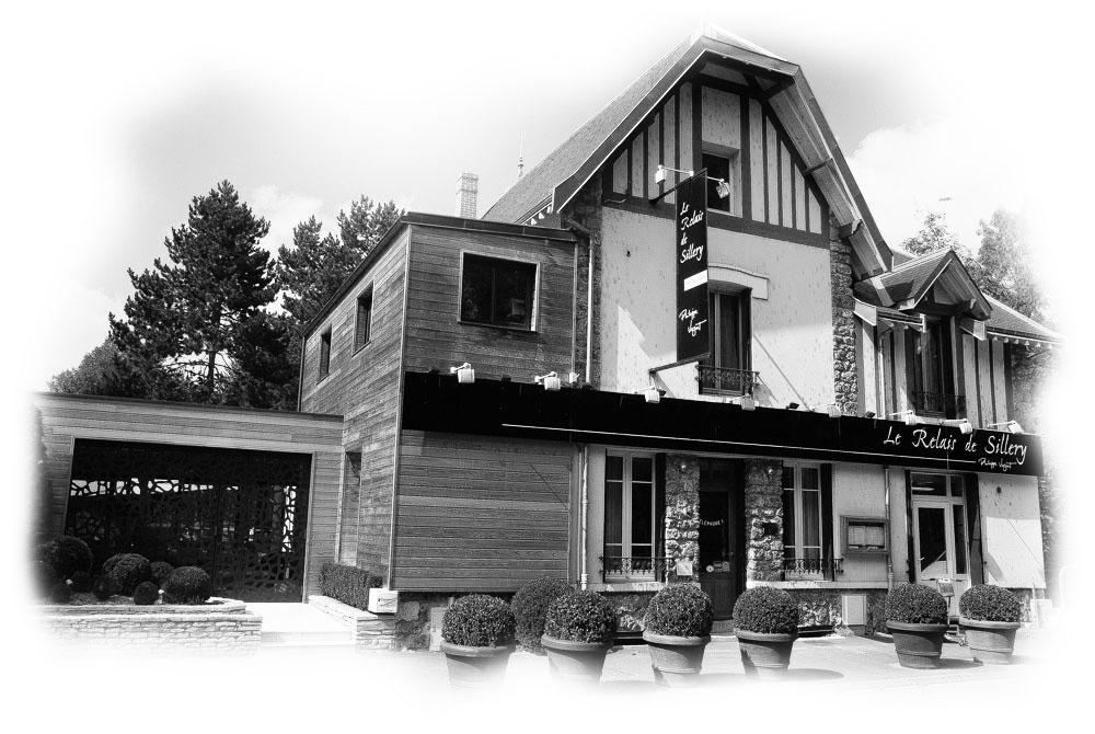 Pascal Facade noir et blanc Le relais de Sillery photo Ubaldo lecca