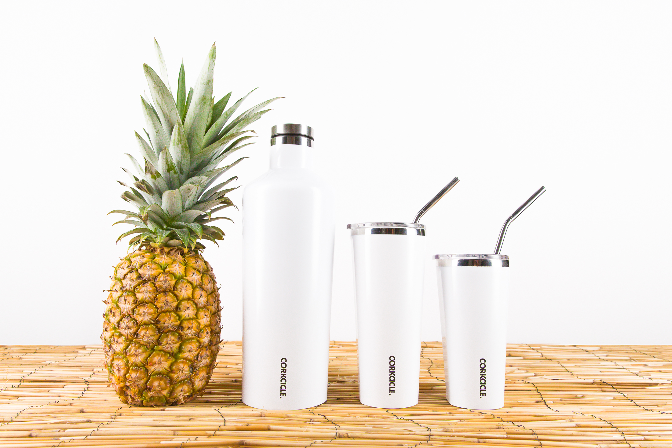 Corkcicle bottles on display at beyond the beach for sale in Lake Country.
