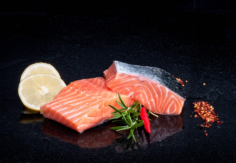 Fresh Square Cut Salmon portions