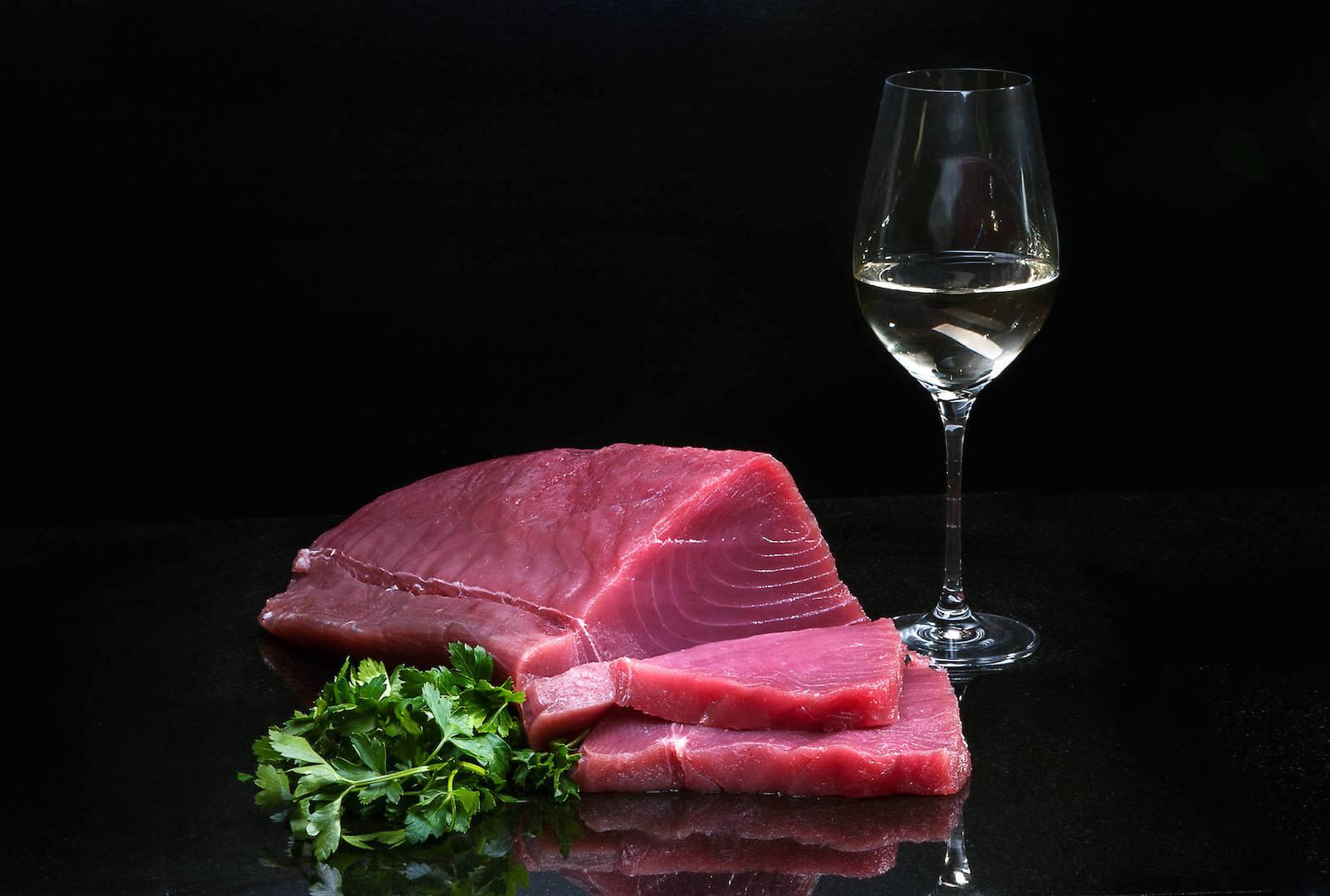 Sushi grade Tuna Loin