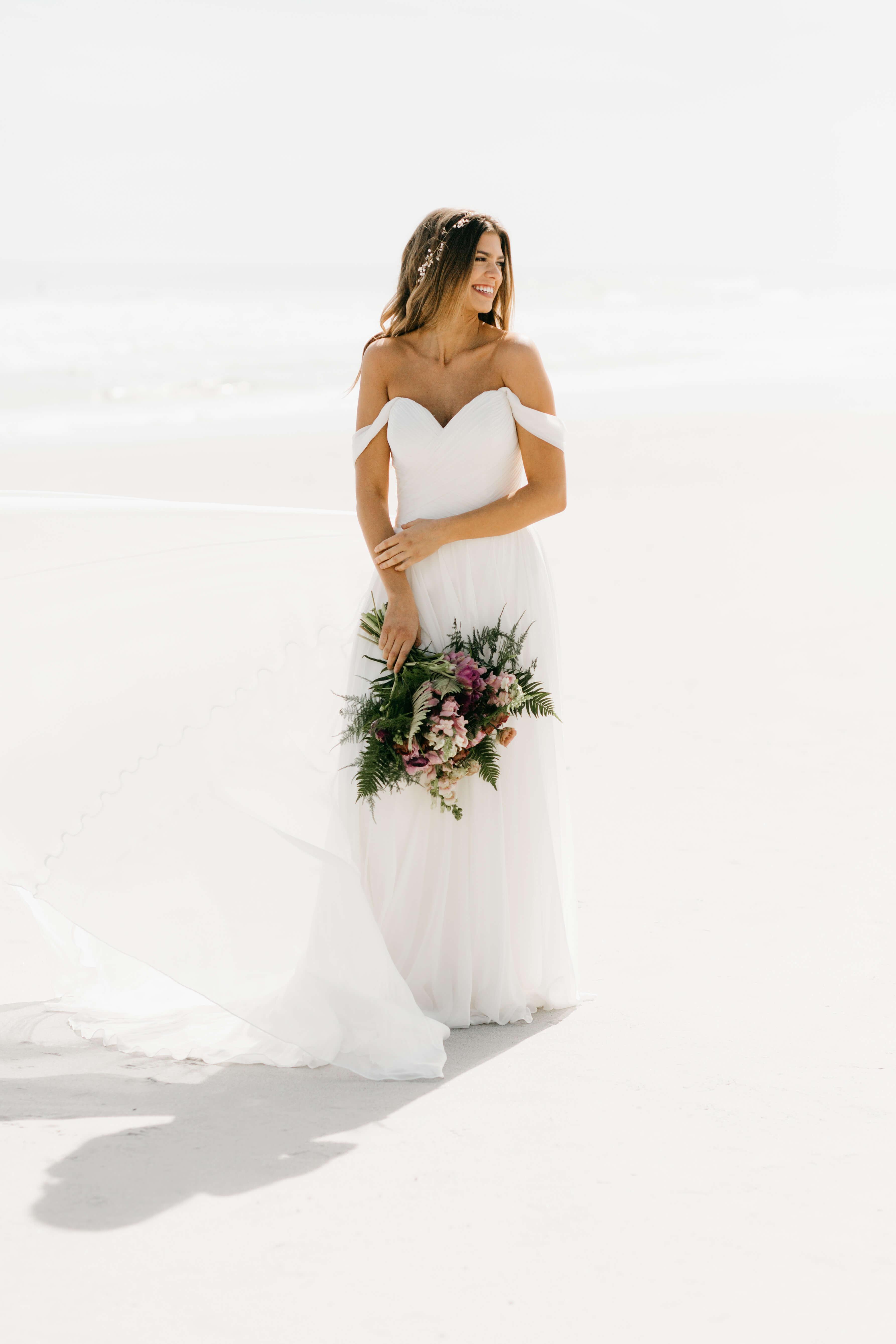 beach bride jacksonville florida martina liana wedding