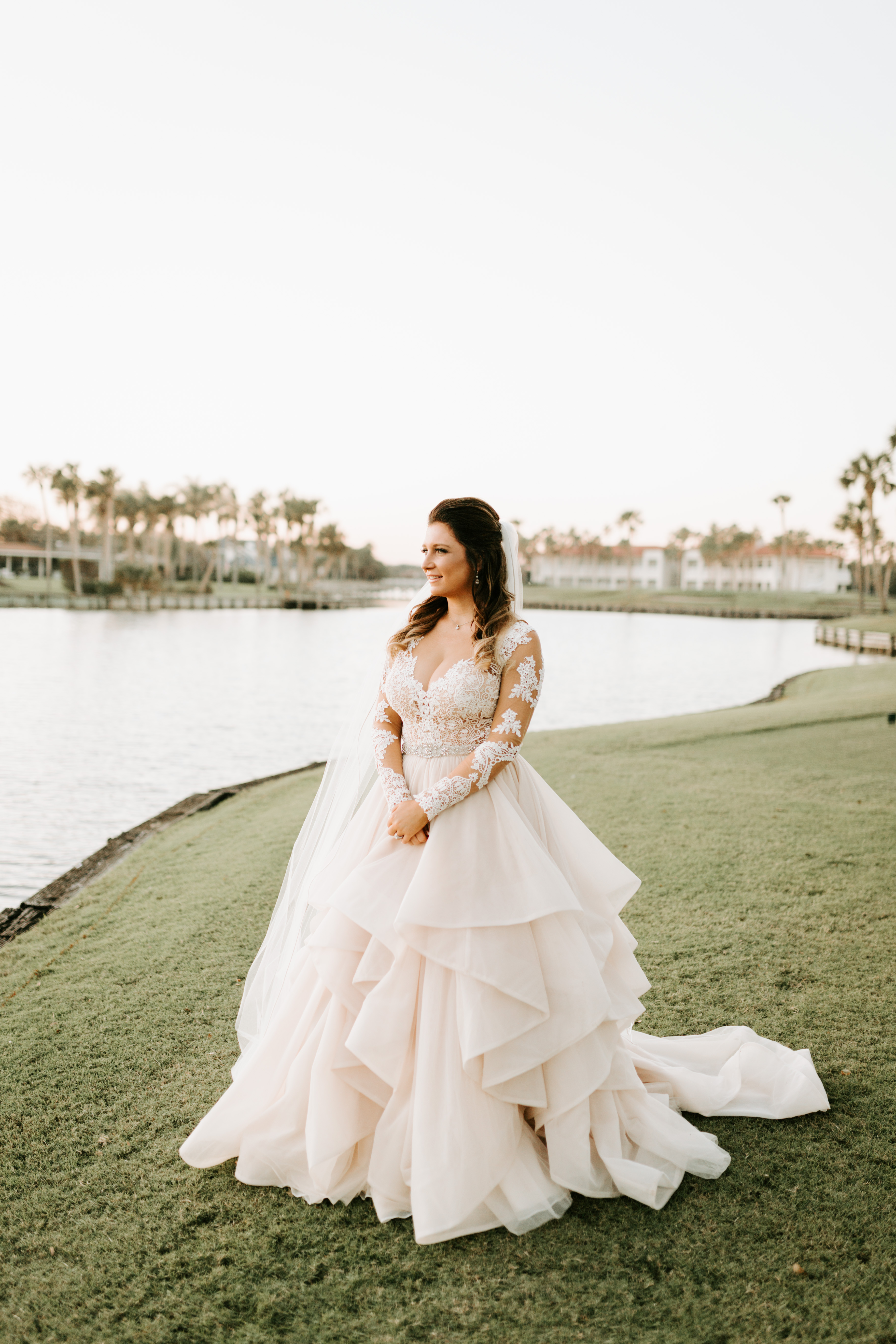 martina liana separates skirt long sleeve blush jacksonville florida wedding