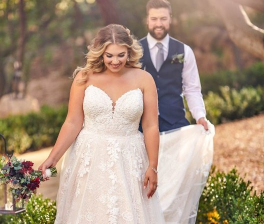 LOVE Plus Size Wedding Dress Size Guide