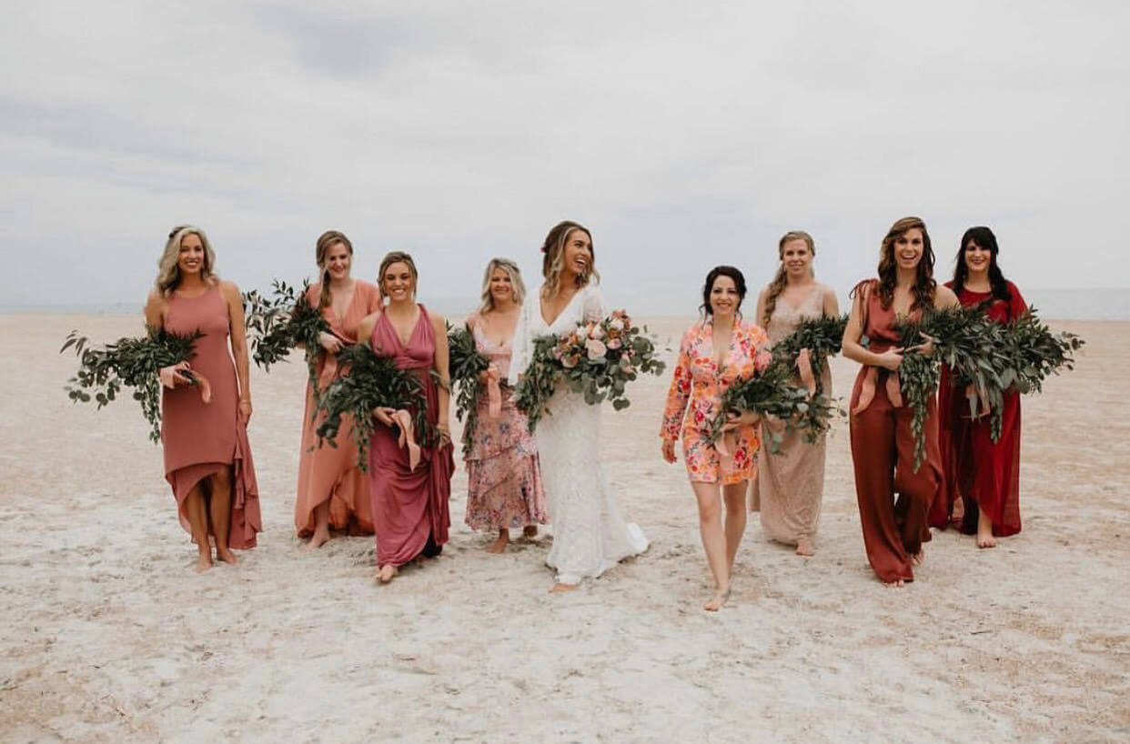 Beach Wedding Bliss: 6 Dress Styling Tips We Love