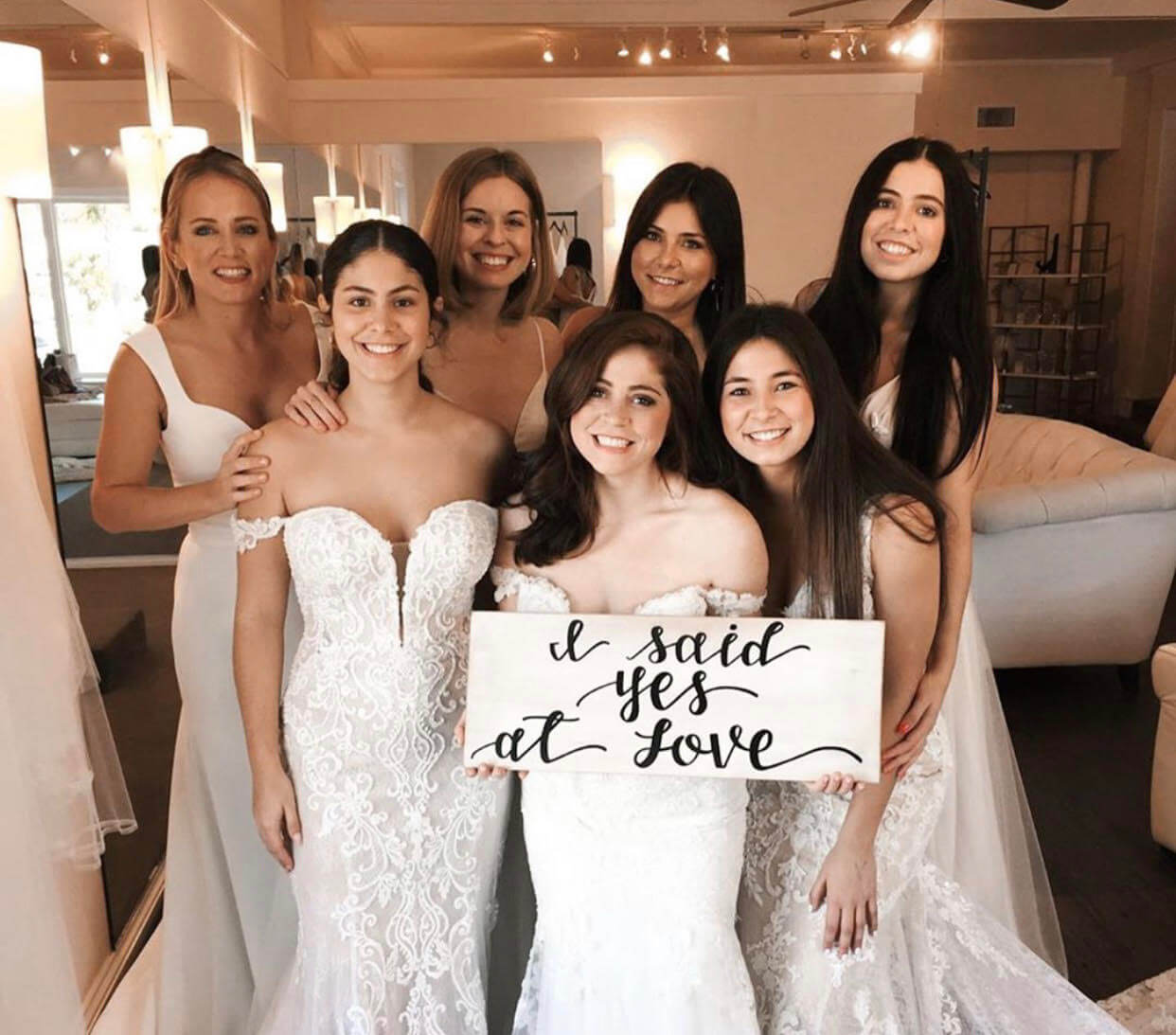 Book a Private Wedding Dress Appointment with a LOVE Stylist!