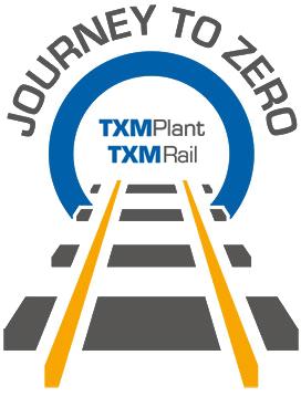 txm rail plant hire journey to zero initiative