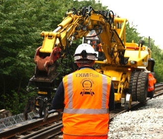 TXM Rail journey to zero corporate social responsibility for plant hire contractors