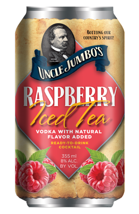 Raspberry Iced Tea Vodka (4 Pack)
