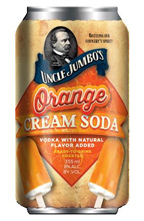 Orange Cream Soda (4PACK)