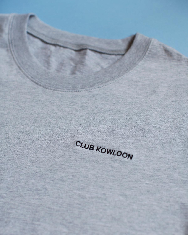 Club Kowloon Essential Tee - Grey