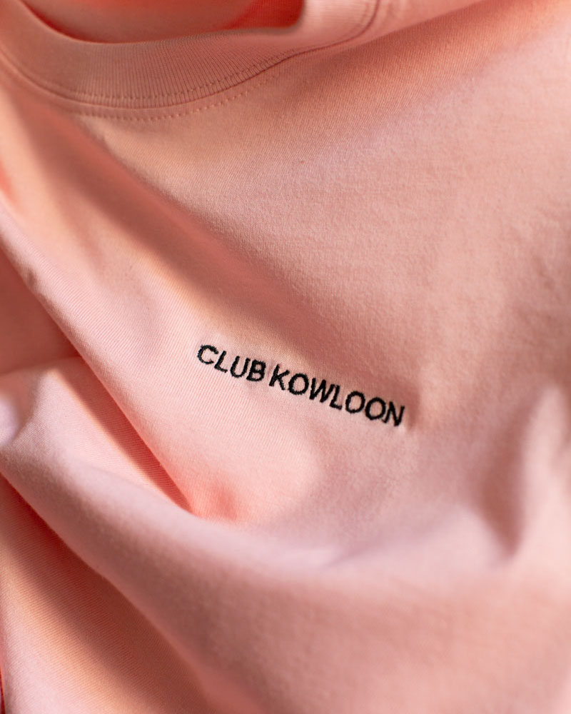 Club Kowloon Essential Tee - Pink