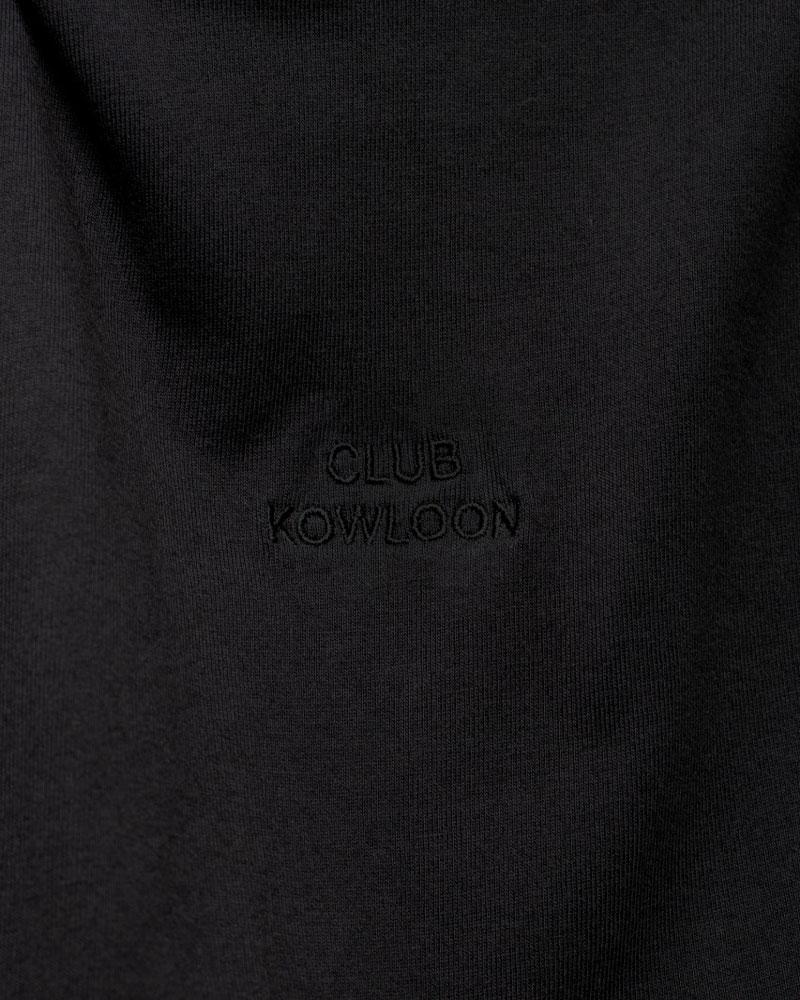 Club Kowloon Refined Tee - Black/Black