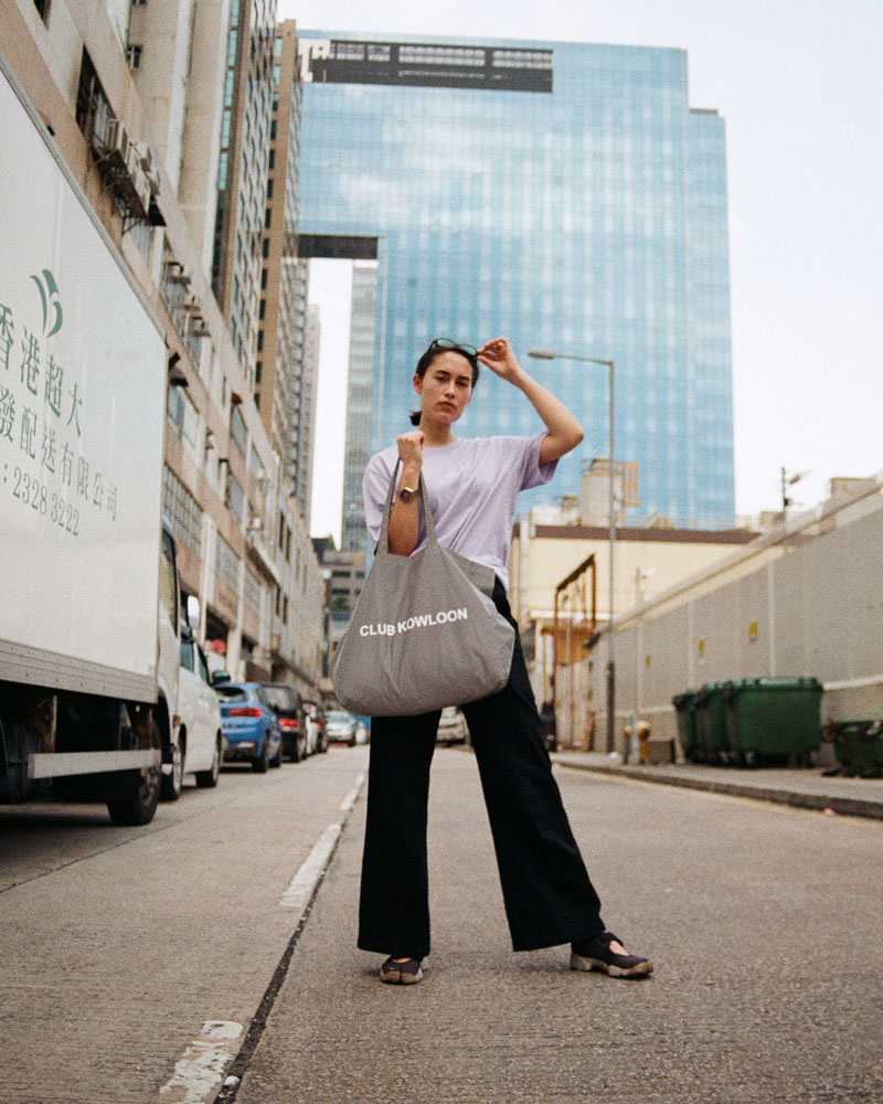 Club Kowloon Reflective bag
