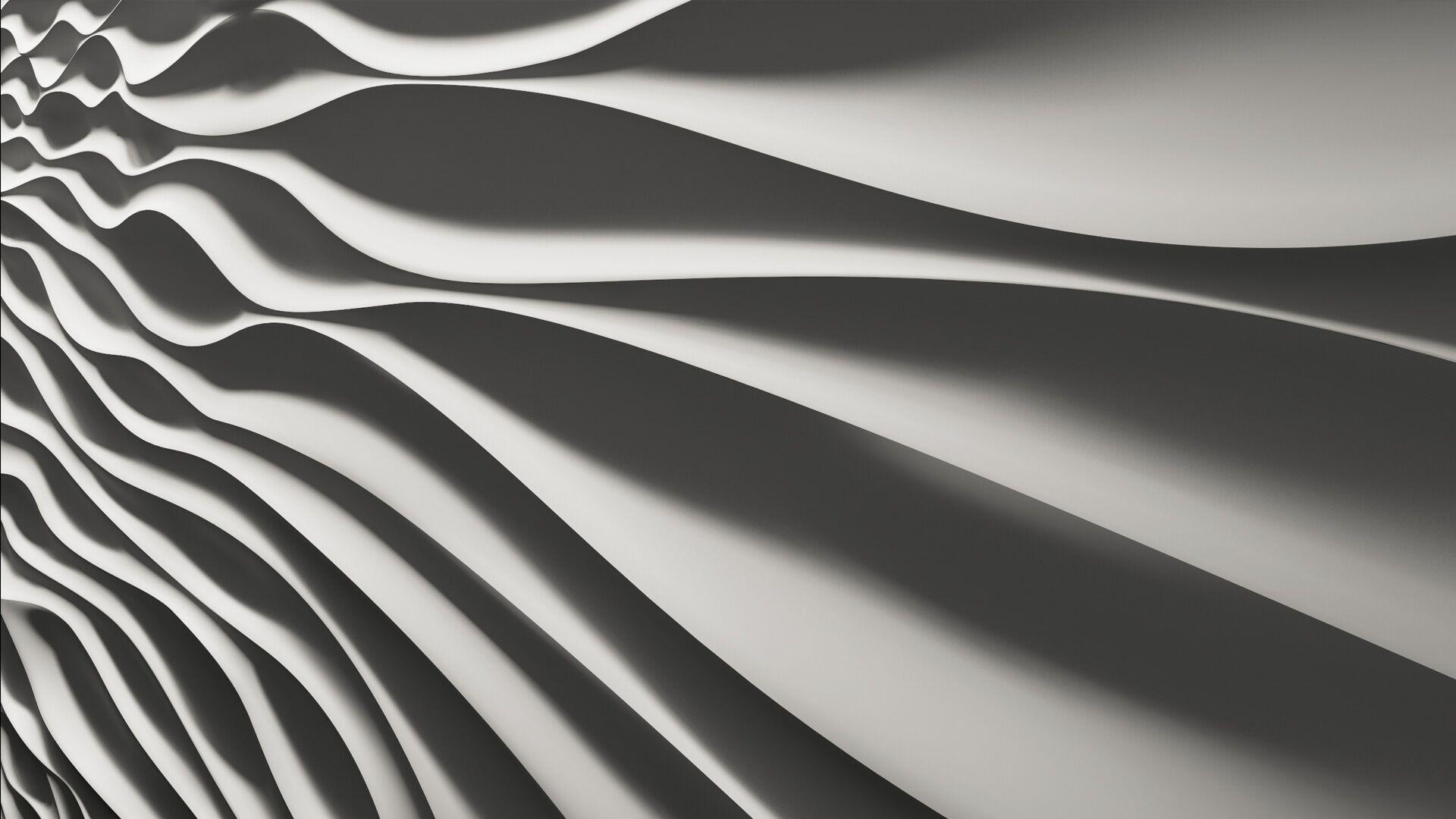 3D art swirls