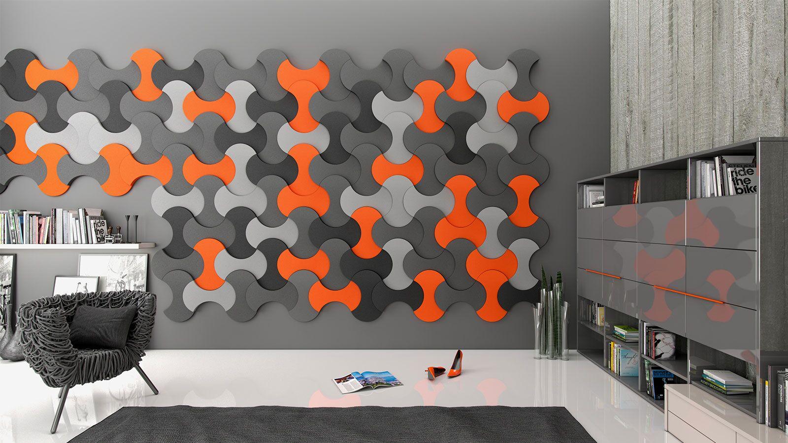 bright 3d wall art