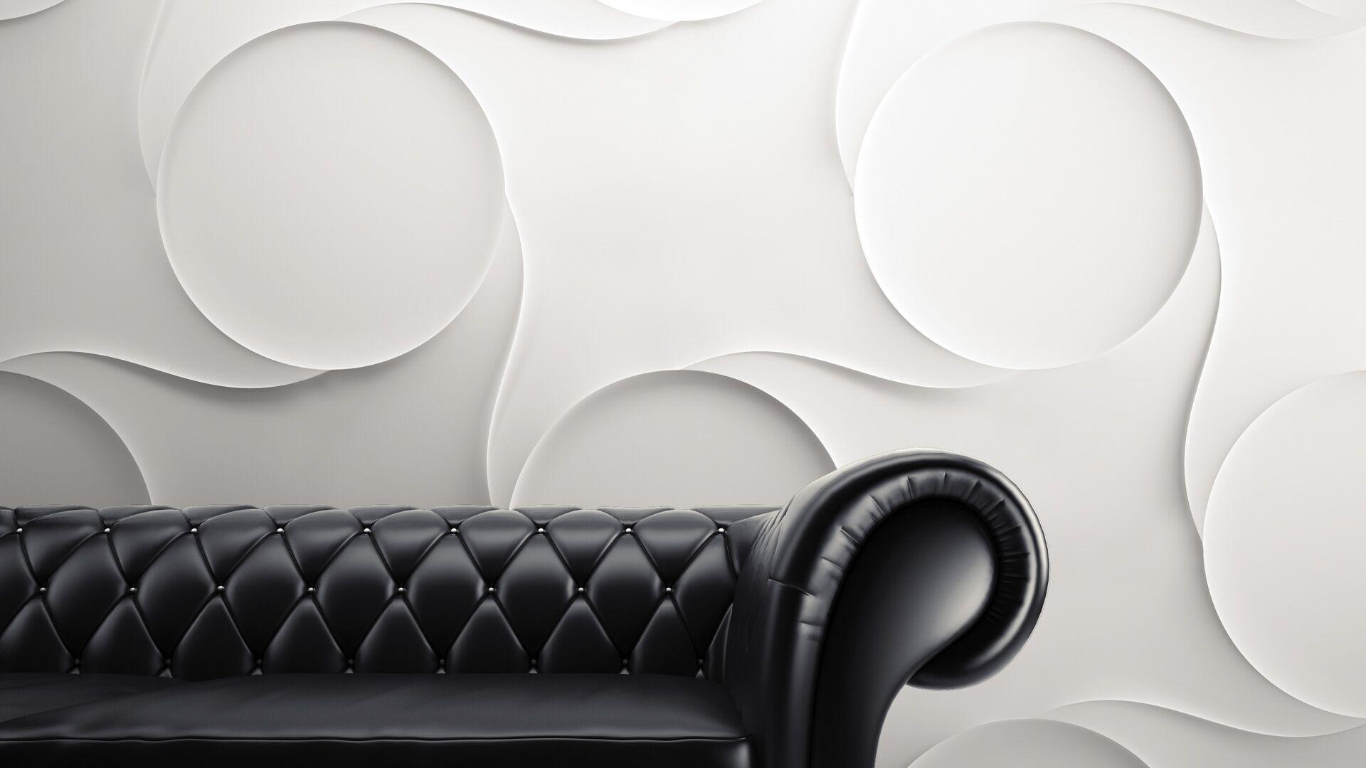 3d wall art circles
