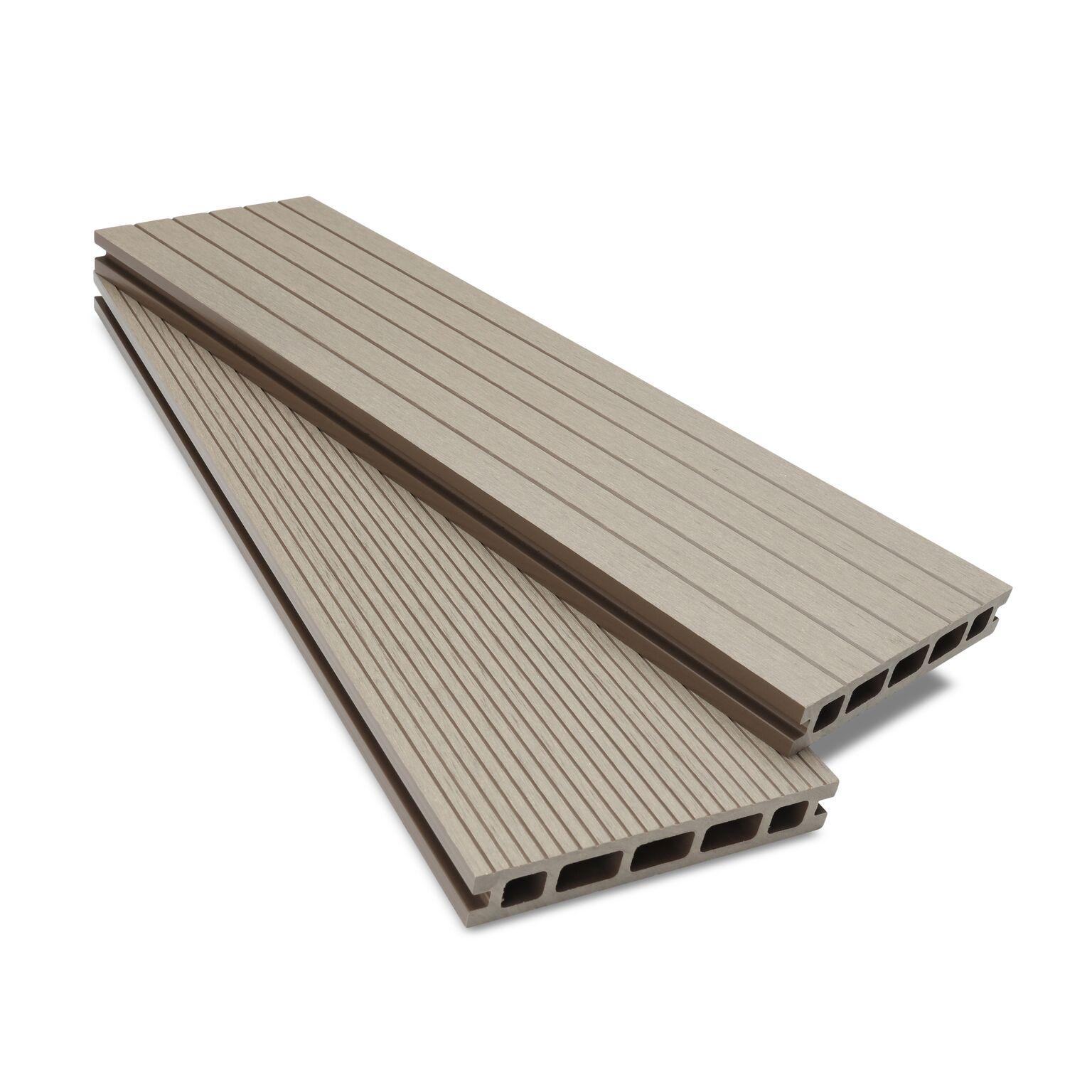 composite decking ash