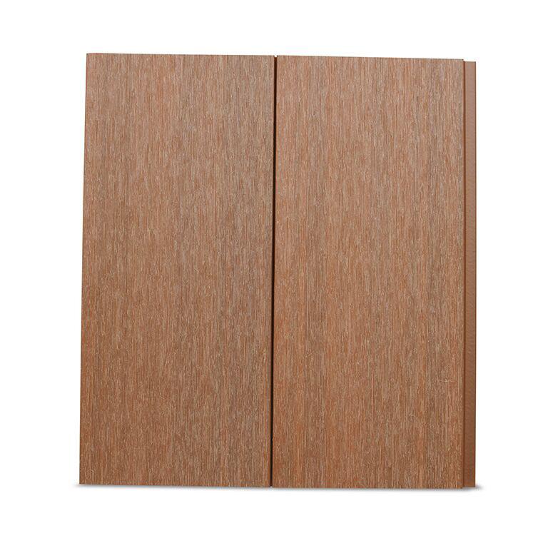 composite cladding spiced oak