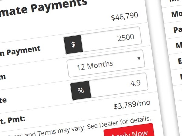 Payment Calculator Image