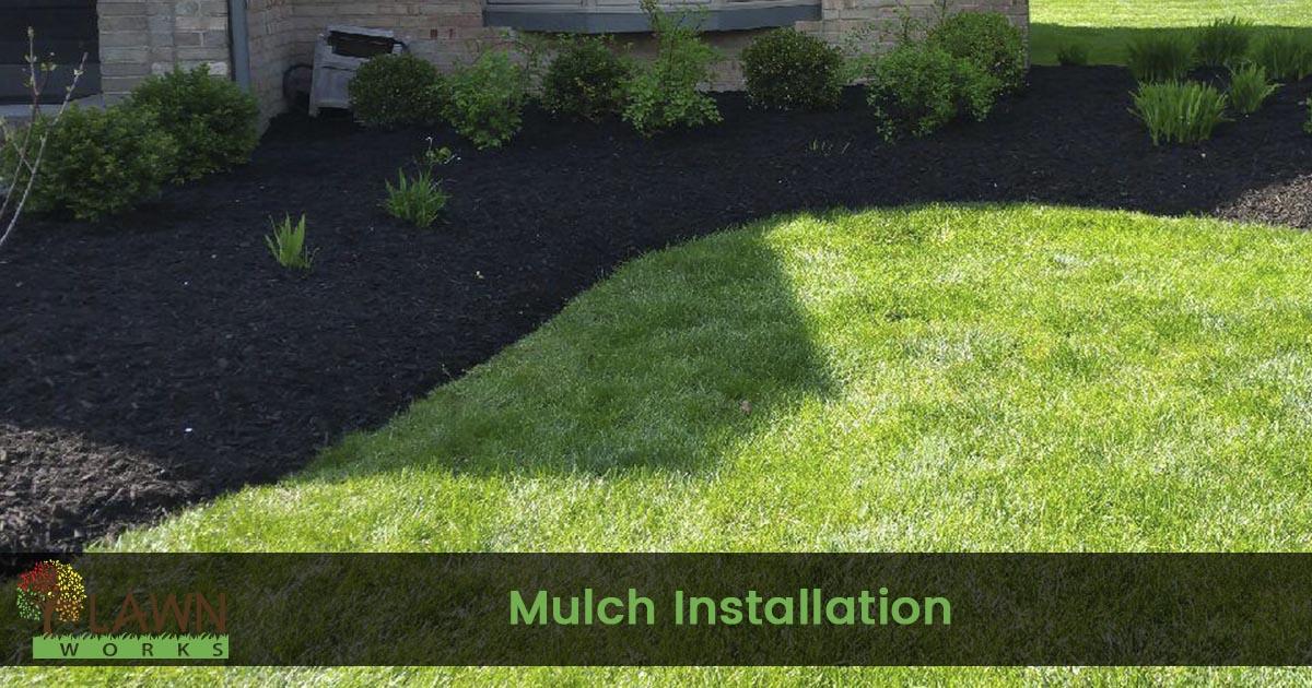 mulch installation service