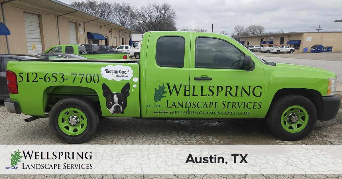 Austin lawn care company