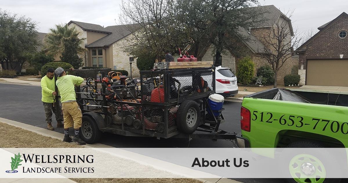 Wellspring Landscape Services Services