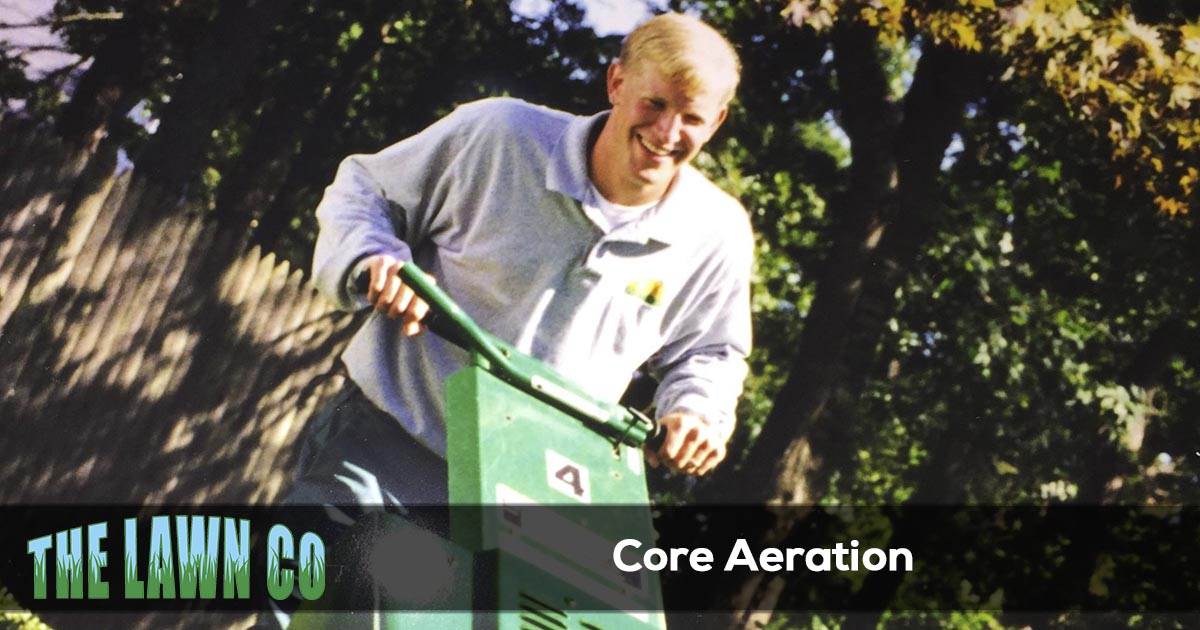 Core aeration in Cape Cod