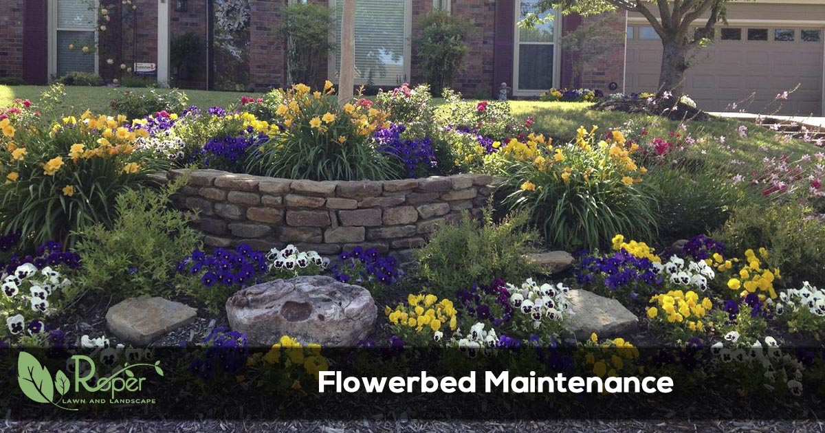 flowerbed maintenance
