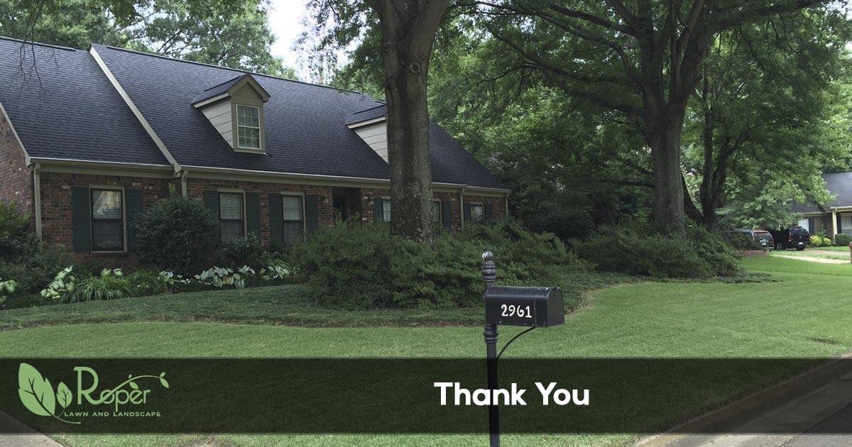 Thank You Roper Lawn Amp Landscape
