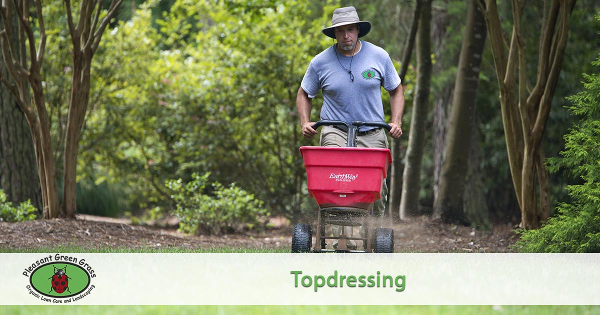 c7e5da47a5 Topdressing. Soil health is as important as the health of the air we  breathe and water we drink. Soil health is often overlooked and undervalued  as an ...