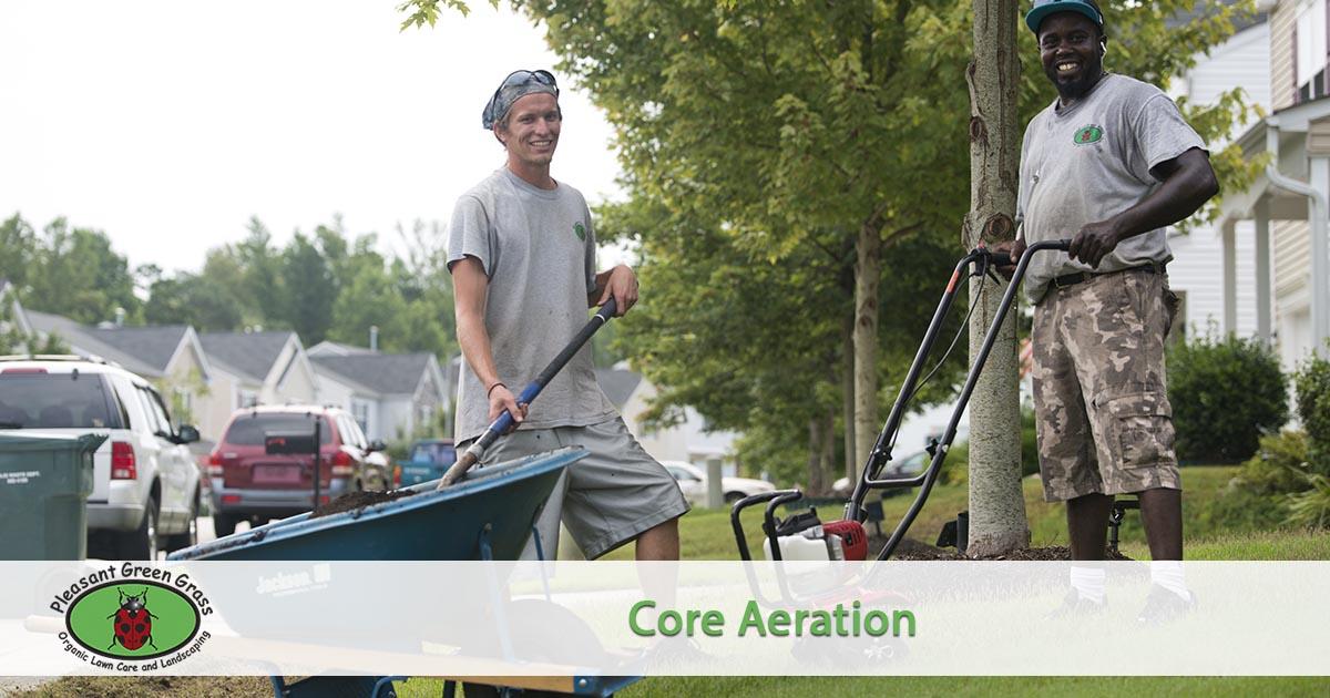 Core Aeration