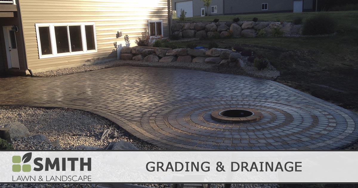 Grading & Drainage Services | Smith Lawn & Landscape
