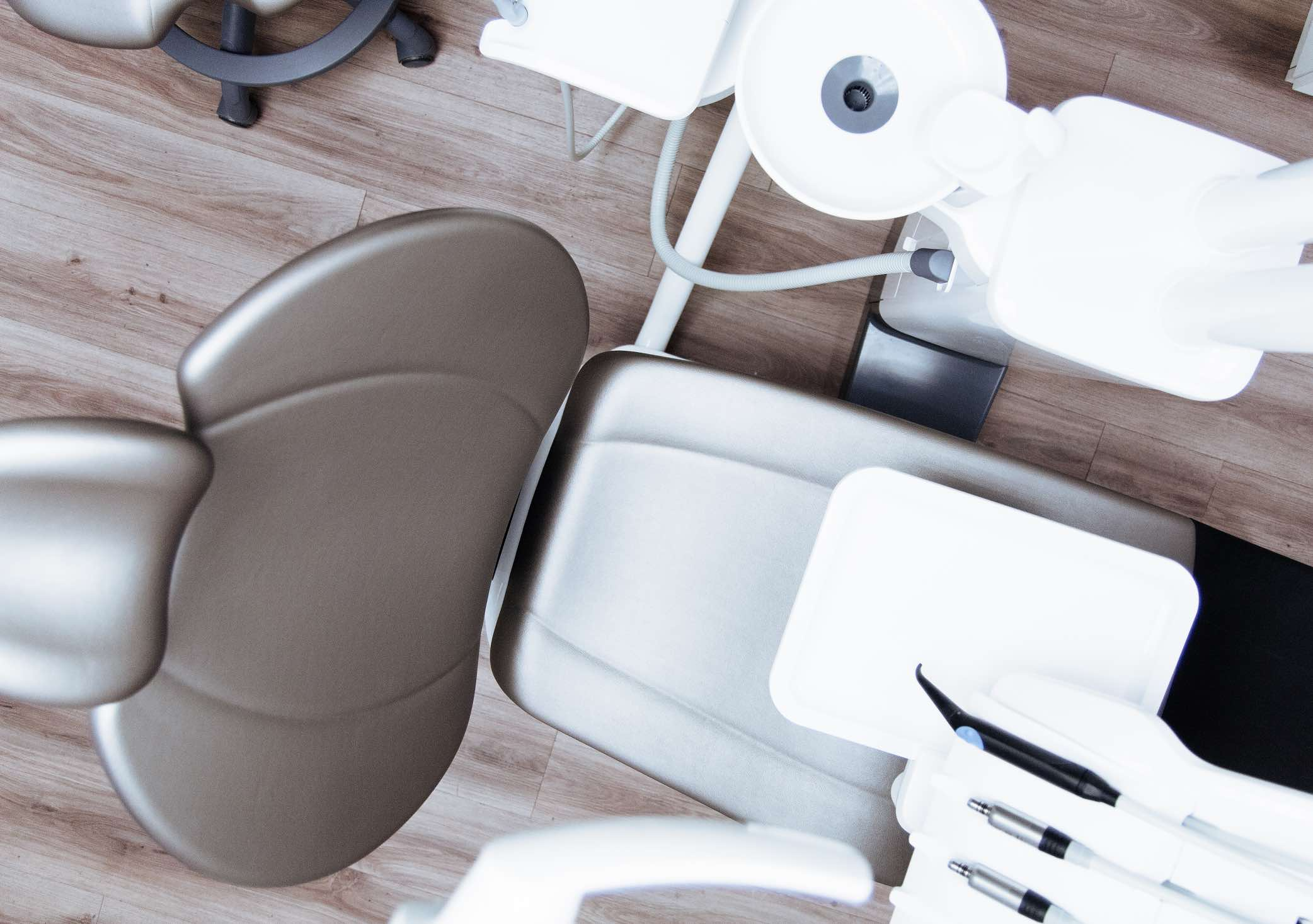 Photo of an Orthodontist's chair