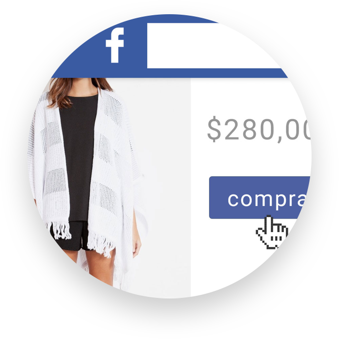 Tienda virtual integrada con Facebook