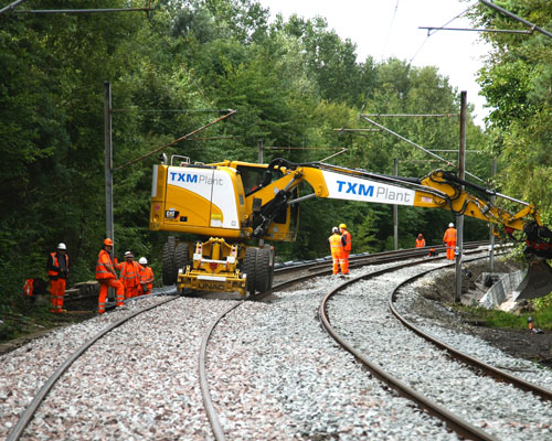 TXM Rail & TXM Plant undergo a management buyout. This will allow for further expansion in order to support unprecedented investment in UK's rail infrastructure.