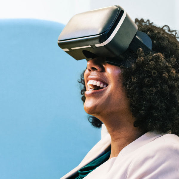 woman-augmented-reality services provided
